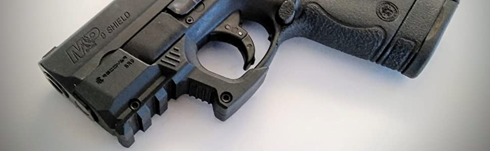 shr9 smith and wesson shield rail