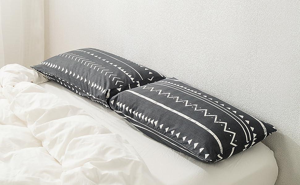 susybao geometric pillowcases
