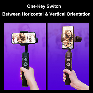 One-Key Switch Between Horizontal and Vertical