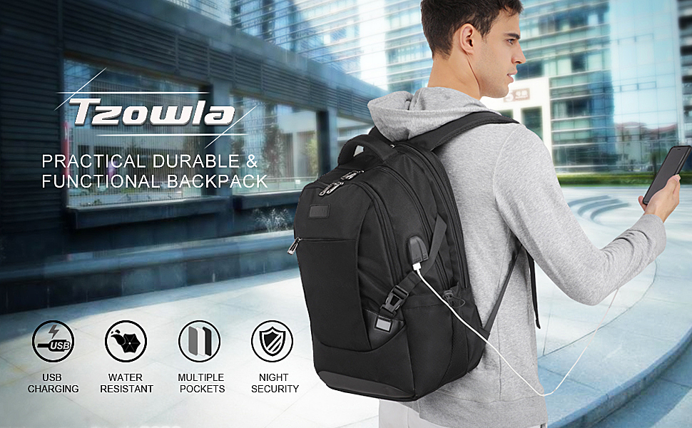 Backpack for Men Tech Gifts Smart Backpack Multipurpose Functional Fashionable Stylish Backpack