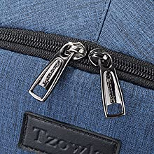 Dual Metal Zippers