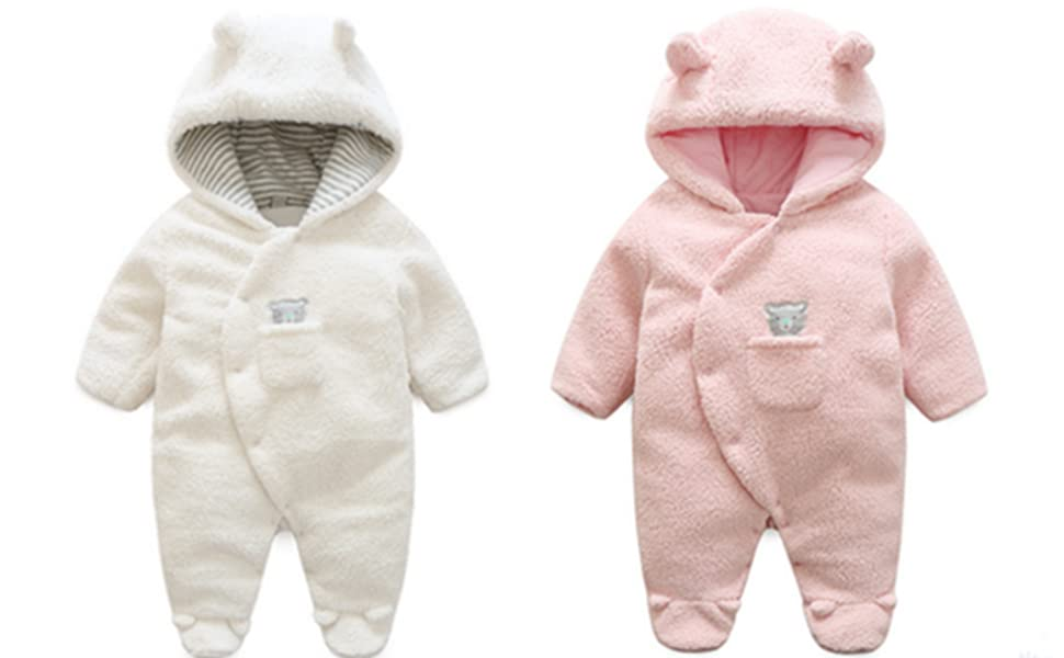 847fc5967d80 Amazon.com  BANGELY Newborn Baby Winter Thicken Cartoon Sheep ...