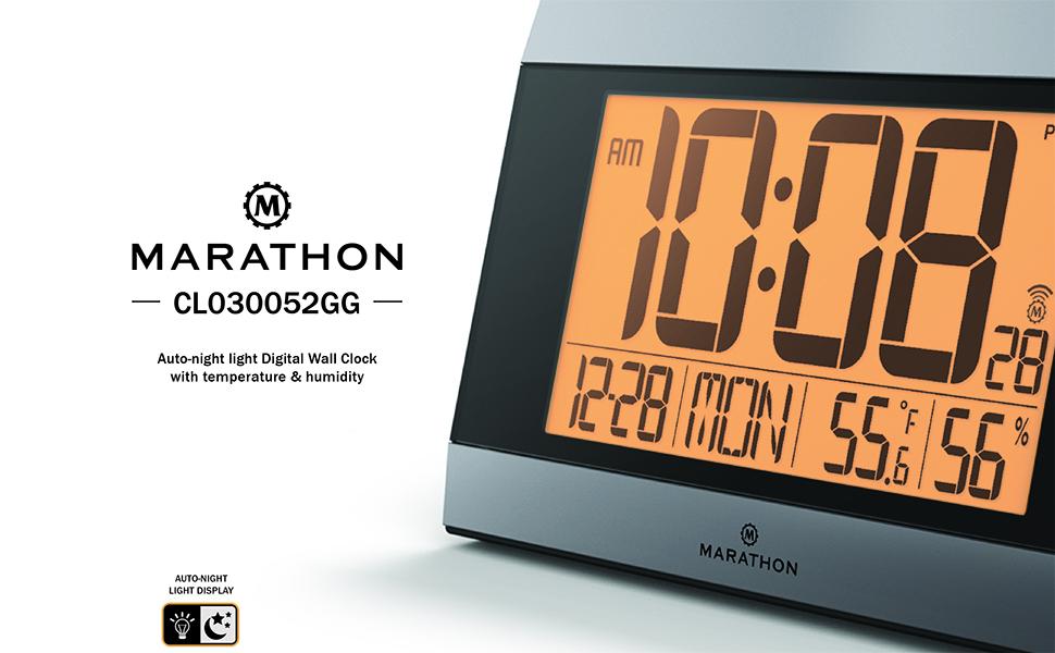 marathon atomic clock