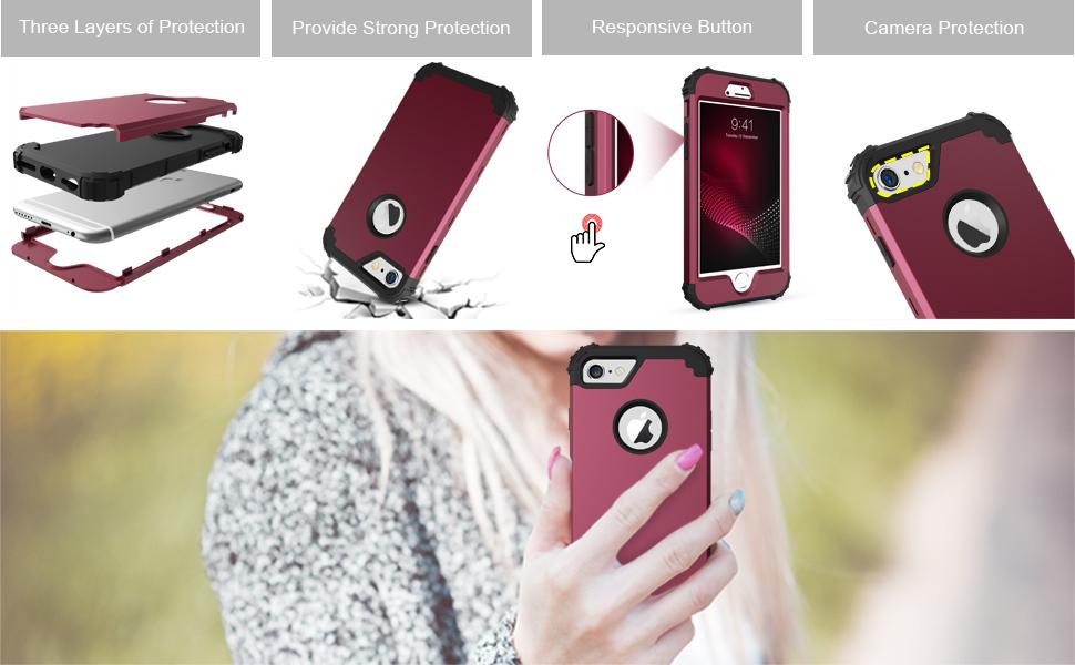 BENTOBEN iPhone 6S Case, iPhone 6 Case