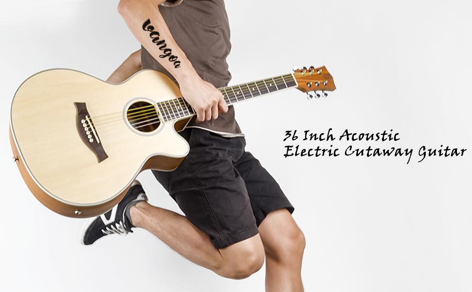 guitar electric 36 inch