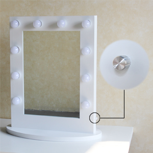 Amazon Com Chende Tabletop Vanity Mirror With Dimmable