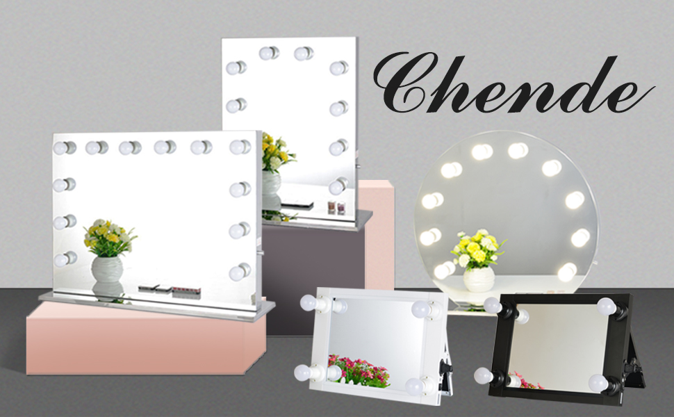 Amazon Com Chende Frameless Hollywood Makeup Vanity