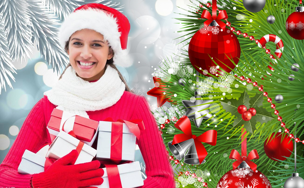 7a76bc10c1675 Have you ever feel that it is very hard to find a high qualtiy beautiful santa  hat  BALORAY insist on providing Amazon customers the best quality santa hat  ...