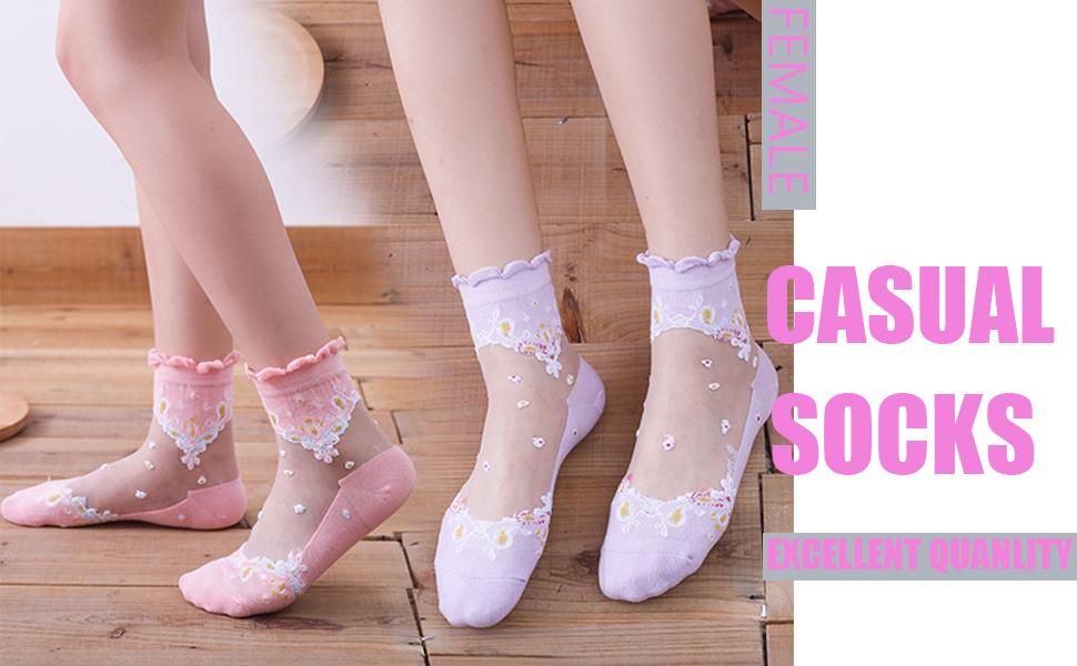 Female Casual Socks