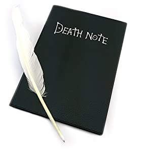 Animation Gadget Frogwill Anime Death Note Cosplay Notebook Feather Pen