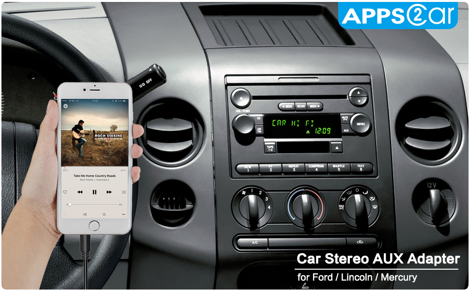 Amazon Apps2car Car Stereo Aux Adapter Audio Cable For Ford Rhamazon: Ford Fusion 2006 Radio Aux Input At Gmaili.net