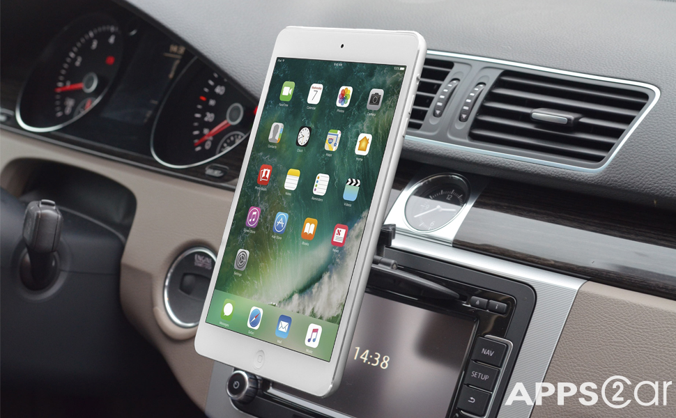 Amazon.com: APPS2Car Magnetic CD Slot iPad Car Mount