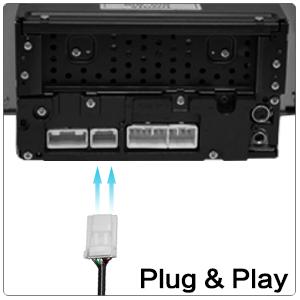 amazon com apps2car car radio aux adapter auxiliary input toyota tundra stereo upgrade