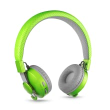 Green Untangled Pro Bluetooth Wireless Headphones with SharePort for Kids/Children Ages 4 and Up