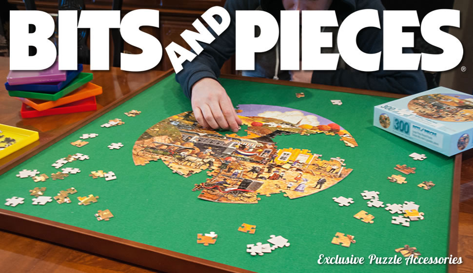 Amazon Com Bits And Pieces Standard Size Wooden Puzzle
