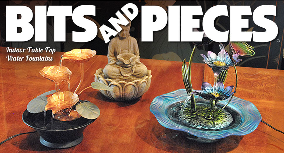 Amazon.com: Bits and Pieces - Indoor Buddha Fountain - Zen ...