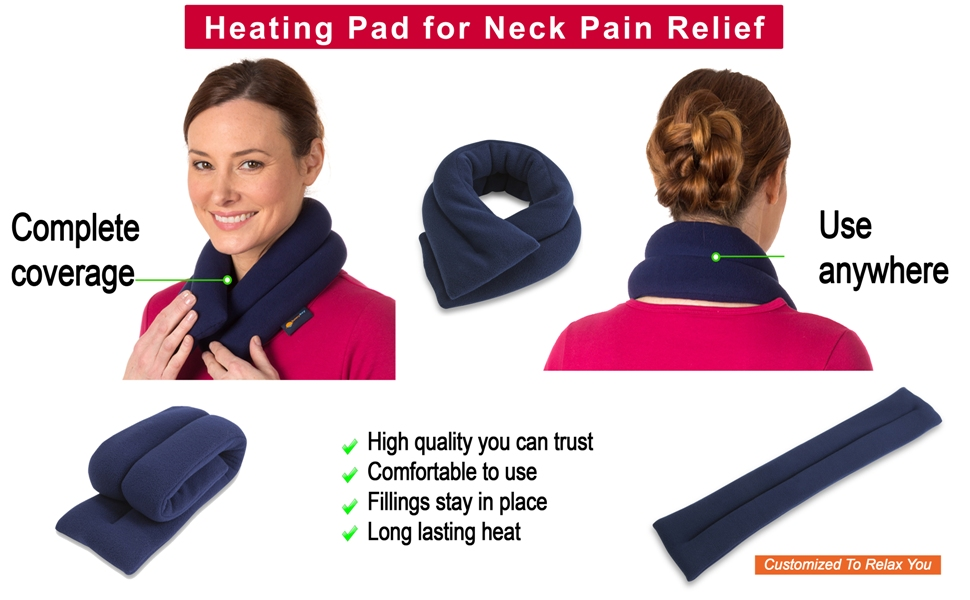 heating pad bean bag bean bags flax seed heat massagers for neck and back pad cold ice bag heat pad