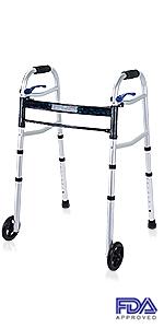Amazon.com: Health Line - Andador compacto para personas ...