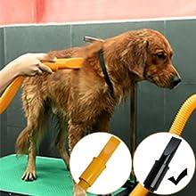 free paws dog pet dryer 4 hp professional dryer slot nozzle