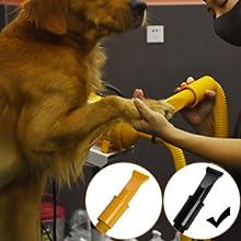 free paws pet dog dryer wide slot nozzle