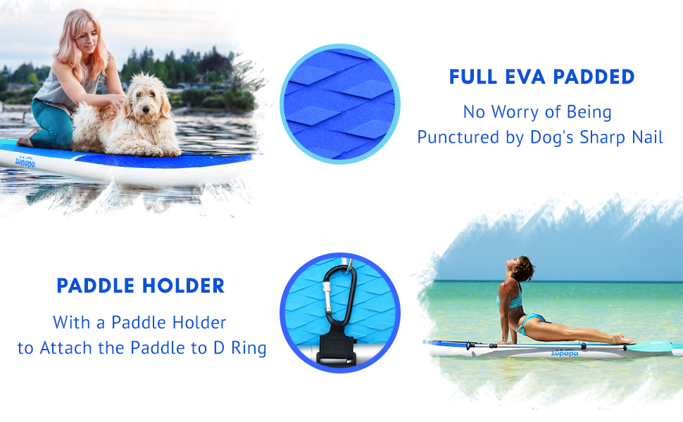 10 11FT inflatable stand up paddle board