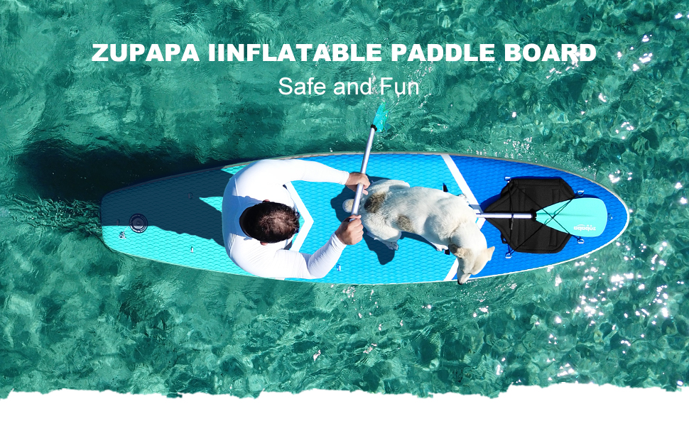 zupapa inflatable stand up paddle board