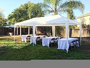 Amazon Com Quictent 10 X20 Party Tent Gazebo Wedding