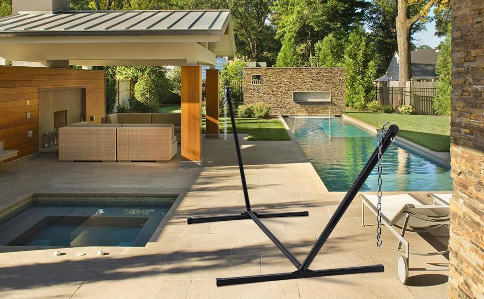 Zupapa hammock stand