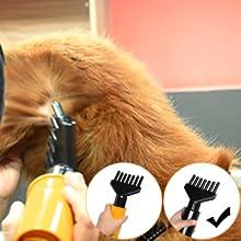 free paws pet dryer 7 finger nozzle