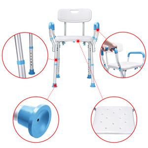 Amazon.com: Health Line - Taburete de ducha sin herramientas ...
