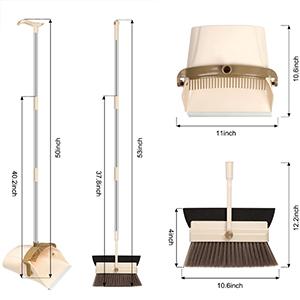 Amazon.com: Household Broom And Dustpan Set Combo Artifact