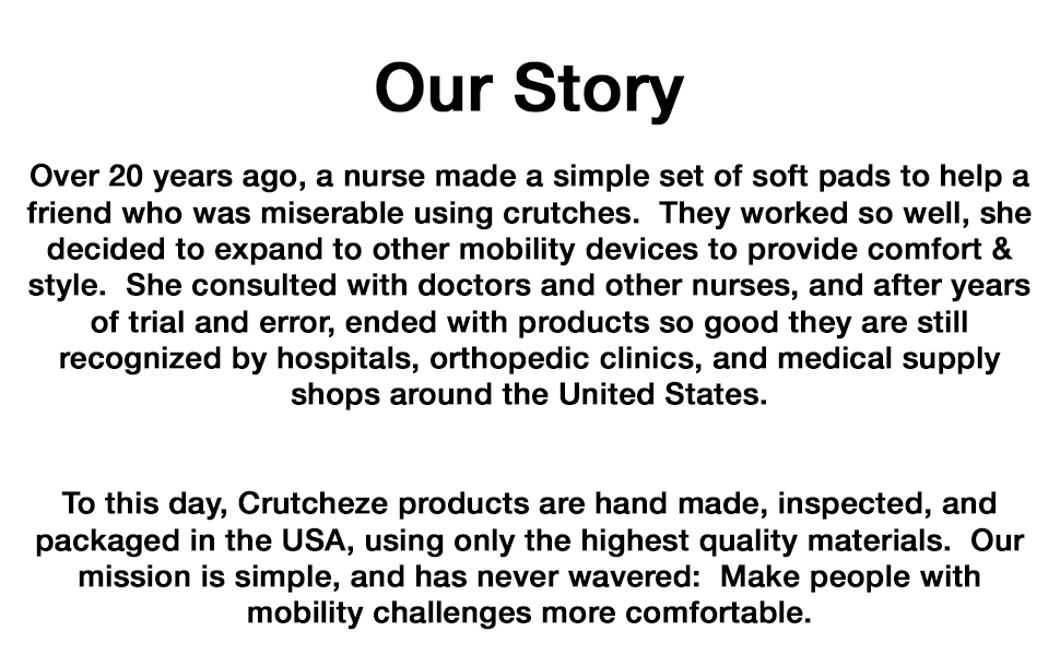 crutcheze story mobility products