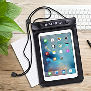 WALNEW Universal Waterproof eReader Protective Case Cover for Amazon Kindle  Oasis/Paperwhite/Kindle 2019/Keyboard/Kindle Fire 7, Kobo Touch,Nook