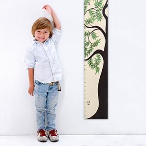 Amazon.com: Gráfico de crecimiento Arte Regalos: Baby Shower ...