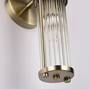 Glass rod lampshade