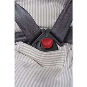 Fits toddlers 2-4 years safely and comfortably. Innovative safety belt aperture makes it easy to transfer sleeping baby between car seat, stroller and ...