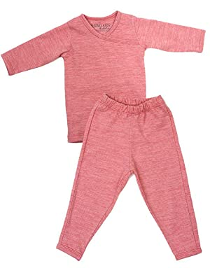 ... natures finest merino fabric and features clever slim-fit design features, making both the top and pants perfect for layering inside a Merino Kids Baby ...