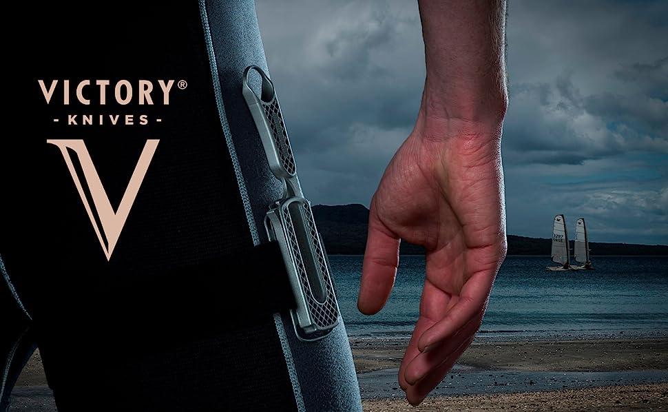 Amazon.com: Victory Cuchillos Cuchillo de buceo Set ...