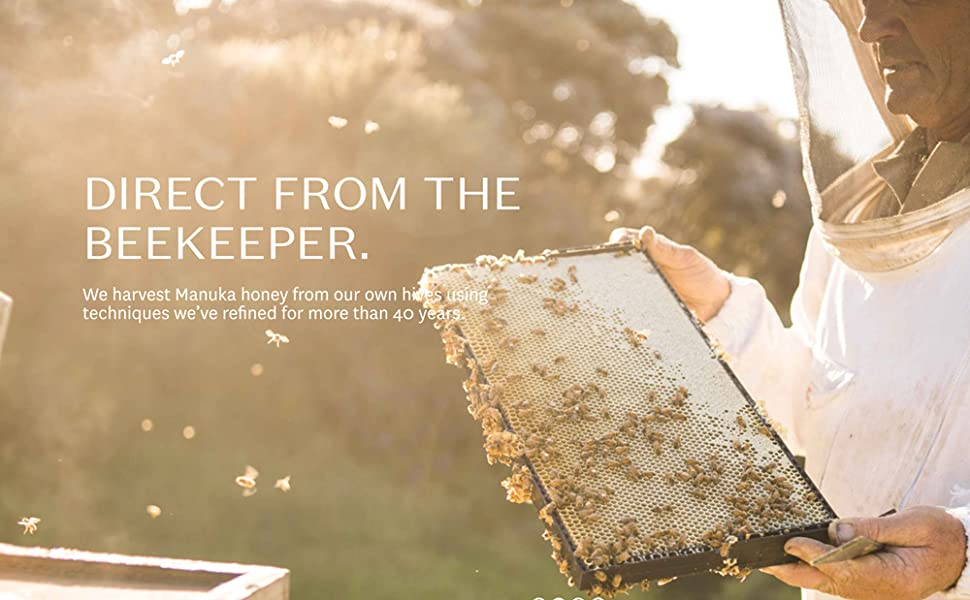 Honey Direct From the Beekeeper