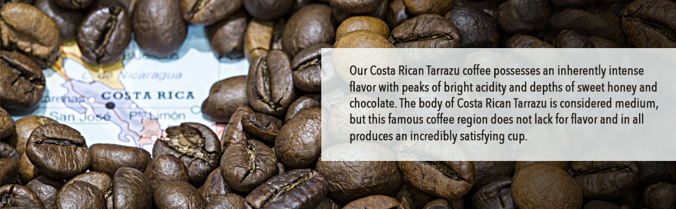 Fresh Roasted Coffee LLC, Costa Rica Tarrazu Coffee Pods, Medium Roast, Single Origin, Capsules Compatible with 1.0 & 2.0 Single-Serve Brewers, 72 ...
