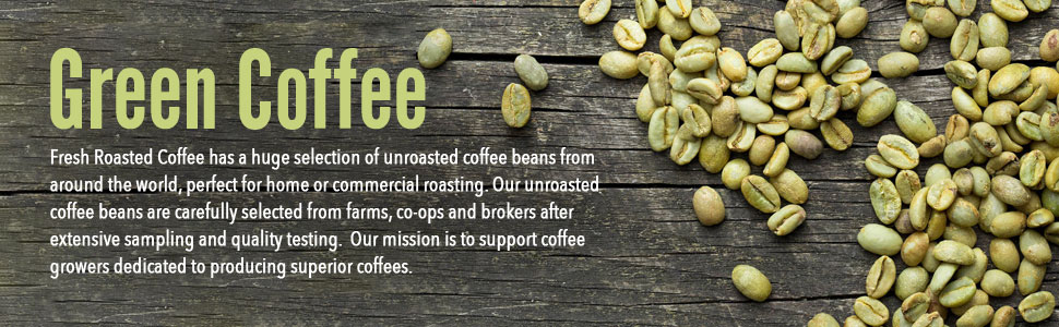 Unroasted Coffee Beans >> Green Unroasted Coffee Beans 5 Lb Bag Fresh Roasted Coffee Llc Colombian Supremo
