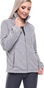 Women's Full-Zip Polar Sport Fall Winter Spring Fleece Jacket Grey Black Outwear For Women Girl Lady