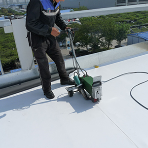 Personal residential roof waterproofing project
