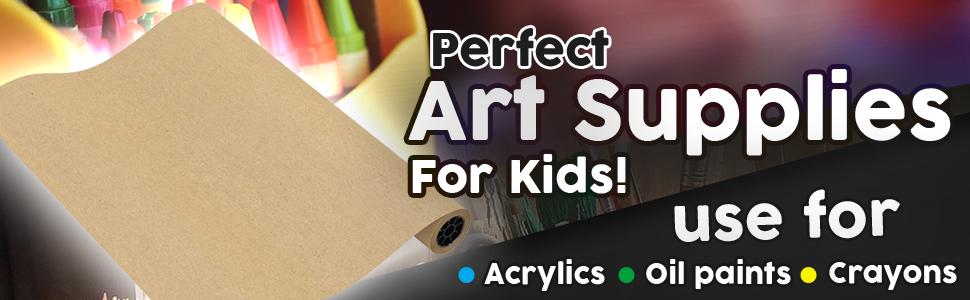 perfect art supplies for kids