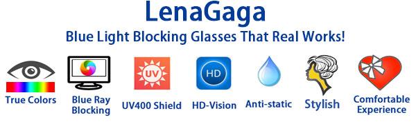 Women Anti Blue Light Glasses Eye Strain Computer Glasses Blue Light Block Glasses no magnification