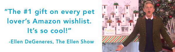 pet camera reviews :Furbo Furbo1 on Ellen show