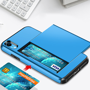 iPhone XR Wallet Card Case