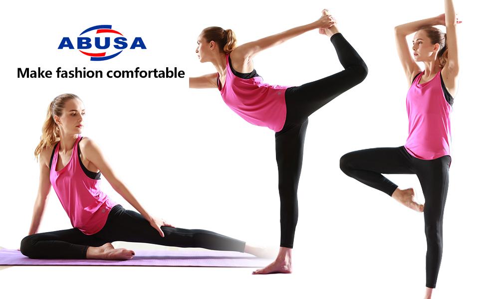 Amazon.com: ABUSA - Pantalones cortos de algodón para mujer ...