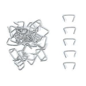 500pcs Galvanized Hog Rings