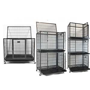 """Stackable 37"""" heavy duty cage"""